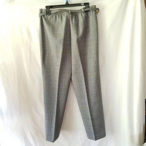 Alfred Dunner Pants - Alfred Dunner Grey Dress Pants